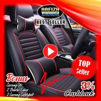 Sarung Jok Mobil LEDERLUX 3 Baris - Xpander XL7 Wuling Confero Almaz