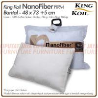 Bantal Nano Fiber King Koil ( FIrm ) - Kingkoil Nanofiber Pillow