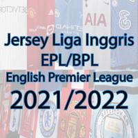 Jersey Liga Inggris EPL BPL English Premier League Jersey Grade Ori - 60.000, S