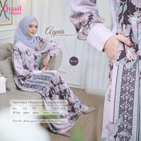 Quail Hijab - AGNIA EXCLUSIVE DRESS MOTIF ORI QUAIL GAMIS BAJU