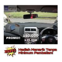 Aksesoris Dashboard Cover Mobil Agya Alas Penutup Dasboard Mobil Ayla - Merah