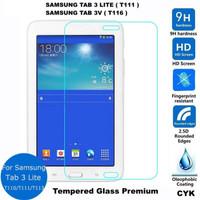 TEMPERED GLASS TAB 3V T116/T111/TAB 3 LITE-ANTI GORES KACA - PROTECTOR