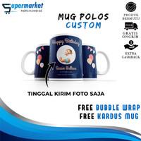 Mug Keramik Couple Bisa Satuan Kado Souvenir Ulang Tahun Gelas Custom