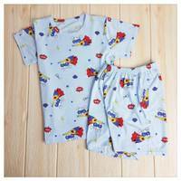 Baju Setelan Rumah Anak Laki Laki 7-11 Tahun Kualitas Terjamin