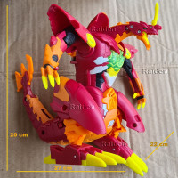 Bakugan Dragonoid Maximus BEX-001 Action Figure robot naga