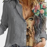 baju lengan panjang wanita
