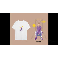 Kaos BTS Series - Member Artwork & Whale Special White Edition (A5)