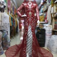 kebaya akad nikah / baju akad nikah pengantin