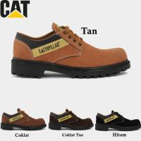 Sepatu Pria Boots Pendek Caterpillar SBY Sepatu Safety Ujung Besi