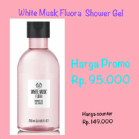 The Body Shop White Musk Shower Gel 250ML
