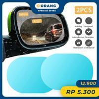 Kaca Film Anti Fog/ Embun Spion Pelindung Hujan 15 x 10 cm