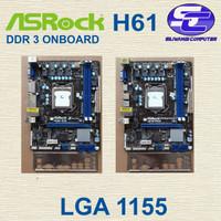 Mainboard ASROCK H61 ddr3 onb vga