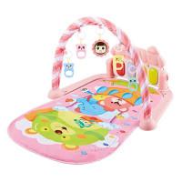 MIISOO Baby play mat Musical Playmat piano / baby play gym piano - 925 Pink
