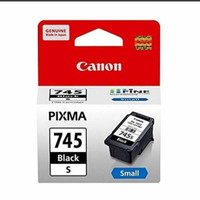 CANON PG 745s Black hitam ORIGINAL Cartridge tinta print PG745s