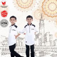 Baju Busana Kemeja Koko Kurta Muslim Anak Ghazi Cowok Laki Laki