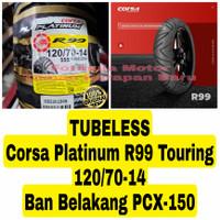Corsa Platinum 120/70-14 R99 Touring - Ban Belakang Motor PCX 150 R14