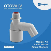 Pelampung Kran Air Otomatis Toren Tandon Bak Mandi Vertikal 3/4 Inch