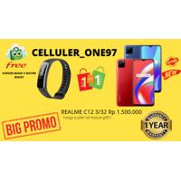 REALME C12 3/32 GB NEW!!! GARANSI RESMI!! PROMO TERBATAS CUCI GUDANG
