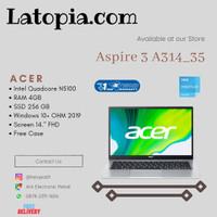 ACER ASPIRE 3 A314-35 N5100 Quad Core 4GB 256GB Intel UHD 14 W10 OHS
