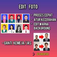 Jasa Edit Pas Foto Photo Background | Edit Seragam Baju Jas