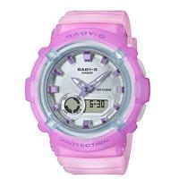 Jam Tangan Wanita Baby G Digital Analog Purple Dial BGA-280-6ADR