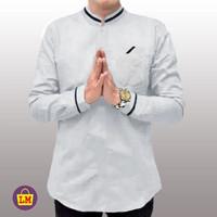 Baju Koko Pria Lengan Panjang KURTA RAJA PAKISTAN SIZE M,L,XL