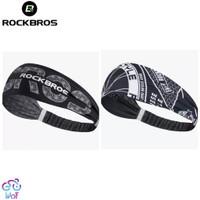 ROCKBROS Cycling Sweatband Bandana Hair Head Band Bando Ikat kepala.05