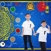 Baju Busana Kemeja Koko Kurta Muslim Anak Dzaki Cowok Laki Laki
