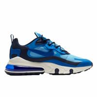 100% Original BNIB - Sepatu Sneakers Nike Air Max 270 React Blue