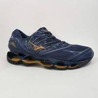 Sepatu Voli Mizuno Wave Propechy 8 Premium Original Volly Navy Biru