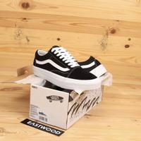 Sepatu Vans Old Skool Vault OG Spring Summer 2020 Black White