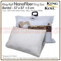 Bantal King Koil Nano Fiber Comfort - King Size Nano Fiber Pillow