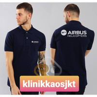 BAJU - KAOS POLO AIRBUS HELICOPTERS - POLOSHIRT AIRBUS HELICOPTERS - S
