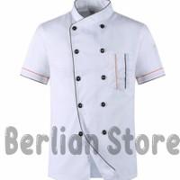Baju Koki Seragam Koki Baju Chef Seragam Chef Jaket Koki Pria Wanita