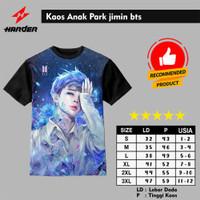 Baju Kaos Anak Park jimin bts