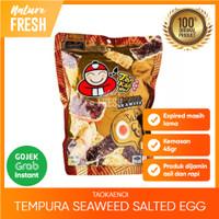 Tao Kae Noi Tempura Seaweed Salted Egg - Snack Tempura Rasa Telur Asin