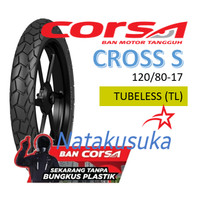 Ban Luar CORSA Cross S Tubeless (TL) 120/80-17