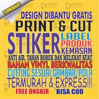 Stiker Label, Sticker Label, Stiker Sticker, Stiker Makanan Minuman 03 - PER CM
