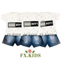 [COD] Setelan Baju Anak Laki Laki Katun Import Giordano Baju Bayi Cowo
