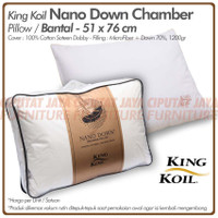 Bantal Kingkoil Nano Down Chamber - King Koil Nano Down Chamber