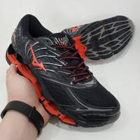 Sepatu Voli Mizuno Wave Propechy 8 Premium Original Black Hitam Volly
