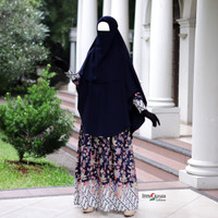 ARUMI Batik Navy Pria | Couple Batik | Ori | Batik Pria Terbaru | COD