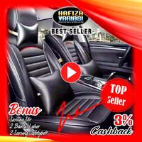Sarung Jok Mobil LEDERLUX Brio Jazz Mirage Yaris Agya HRV Ayla Swift