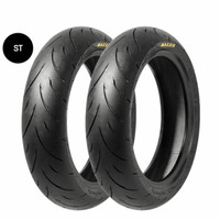 Velg Tubeless R10 GScooter dan Ban Maxxis R1 90/90 Vespa Special PTS -