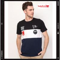 Kaos Pria Original 17SEVEN FLAG T-Shirt Pria Casual Lengan Pendek