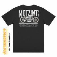 T-Shirt Motz Not Living / Baju Kaos Motzint Original - L