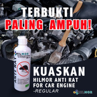 Pengusir Tikus Cairan Hilmor Anti Rat Spray 200 ml untuk kap mobil - REGULAR FLIPTOP
