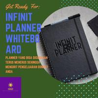 Buku agenda Infinit planner Whiteboard book buku planner hitivity