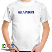 Baju Kaos Anak AIRBUS T-Shirt Penerbangan Airbus Aircraft