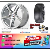 Paket Velg Ring 18 Mobil Bmw Hsr Speedy R18 Plus Ban Accelera